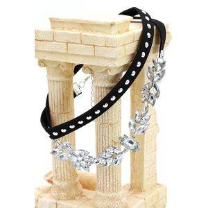 Ocean Fashion Jewelry - White trend women crystal choker